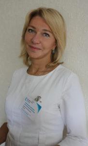 Елина Светлана Макаровна заведующая отделением ультразвук. диагностики